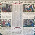 guy arnoux calendrier 1923