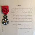 Guy Arnoux Officier Légion d'Honneur