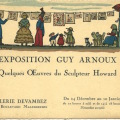 Exposition Guy Arnoux Howard