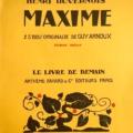 GUY ARNOUX MAXIME