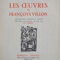 guy arnoux Francois Villon