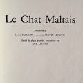 guy arnoux le chat maltais