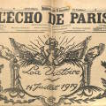 L'Echo de Paris 1919
