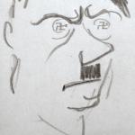 Croquis de Guy Arnoux Hitler le fou
