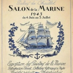 guy arnoux salon marine 1943