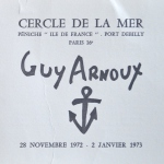 GUY ARNOUX EXPOSITION 1972