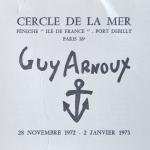 GUY ARNOUX EXPOSITION 1972