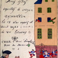 GUY ARNOUX PAUL POIRET INVITATION